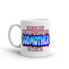 Load image into Gallery viewer, This Is What The Worlds Greatest Godmother Looks Like Mug - Guidogear