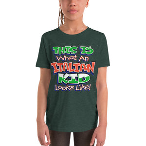 This Is What An Italian Kid Looks Like Youth Short Sleeve T-Shirt - Guidogear