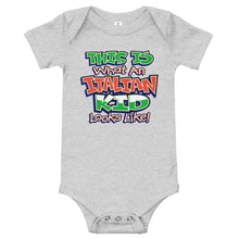 Load image into Gallery viewer, This is What An Italian Kid Looks like Onesie - Guidogear