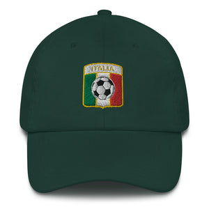 Italia Soccer Baseball Hat - Guidogear