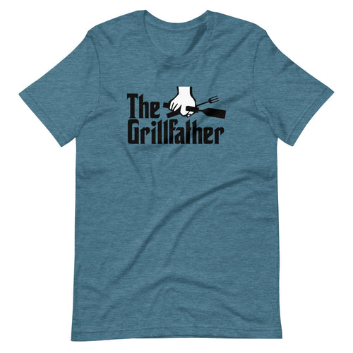The Grillfather Short-Sleeve Unisex T-Shirt - Guidogear