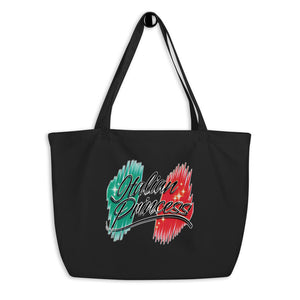 Italian Princess Large organic tote bag - Guidogear