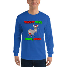 Load image into Gallery viewer, Italian Christmas Donkey Unisex Long Sleeve Shirt - Guidogear