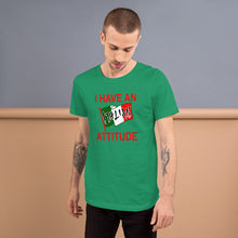 Load image into Gallery viewer, I Have An Italian Attitude Short-Sleeve Unisex T-Shirt - Guidogear