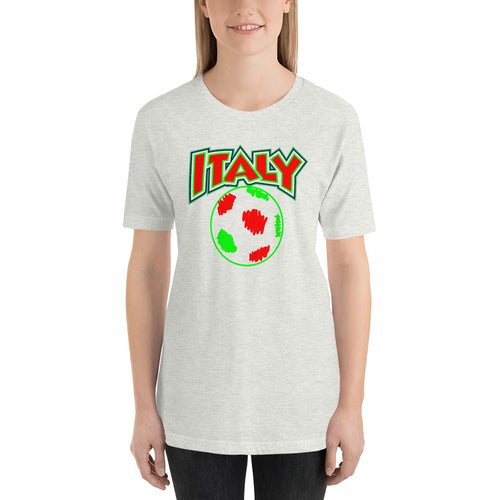 Italy Soccer Short-Sleeve Unisex T-Shirt - Guidogear