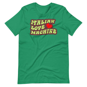 Italian Love Machine Short-Sleeve Unisex T-Shirt - Guidogear