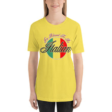 Load image into Gallery viewer, I'm Blessed To Be Italian Short-Sleeve Unisex T-Shirt - Guidogear
