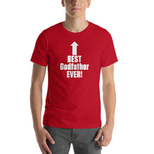Load image into Gallery viewer, Best Godfather Ever Short-Sleeve Unisex T-Shirt - Guidogear