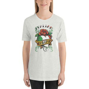 Italian Princess With Heart Short-Sleeve Unisex T-Shirt - Guidogear