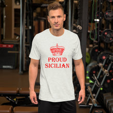 Load image into Gallery viewer, Proud Sicilian Short-Sleeve Unisex T-Shirt - Guidogear