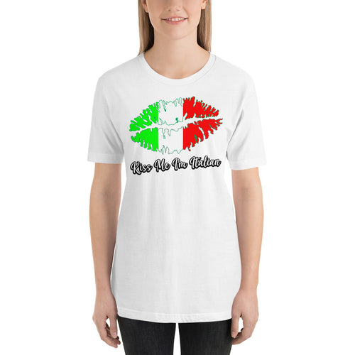 Kiss me I'm Italian Short-Sleeve Unisex T-Shirt - Guidogear