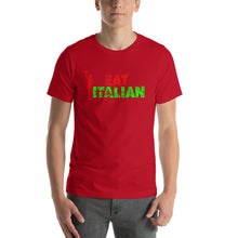 Load image into Gallery viewer, Eat Italian Short-Sleeve Unisex T-Shirt - Guidogear