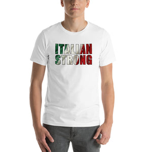 Italian Strong Short-Sleeve Unisex T-Shirt - Guidogear