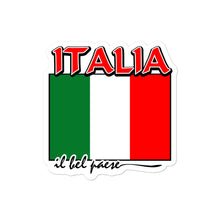 Load image into Gallery viewer, Italia il bel paese Bubble-free stickers - Guidogear