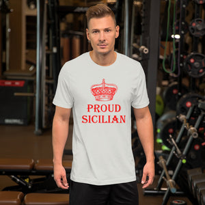 Proud Sicilian Short-Sleeve Unisex T-Shirt - Guidogear