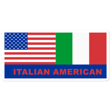 Load image into Gallery viewer, Italian American Flag stickers - Guidogear