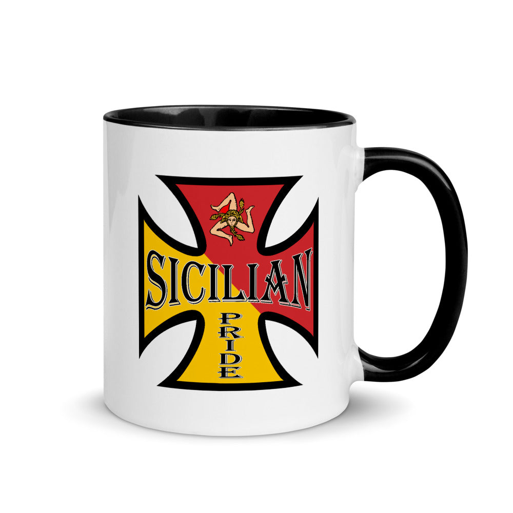 Sicilian Pride Mug with Color Inside - Guidogear