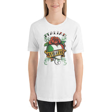 Load image into Gallery viewer, Italian Princess With Heart Short-Sleeve Unisex T-Shirt - Guidogear