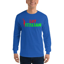 Load image into Gallery viewer, Eat Italian Unisex Long Sleeve Shirt - Guidogear