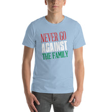 Load image into Gallery viewer, Never Go Against The Family Short-Sleeve Unisex T-Shirt - Guidogear
