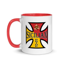 Load image into Gallery viewer, Sicilian Pride Mug with Color Inside - Guidogear
