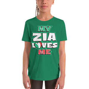My Zia Loves Me Youth Short Sleeve T-Shirt - Guidogear