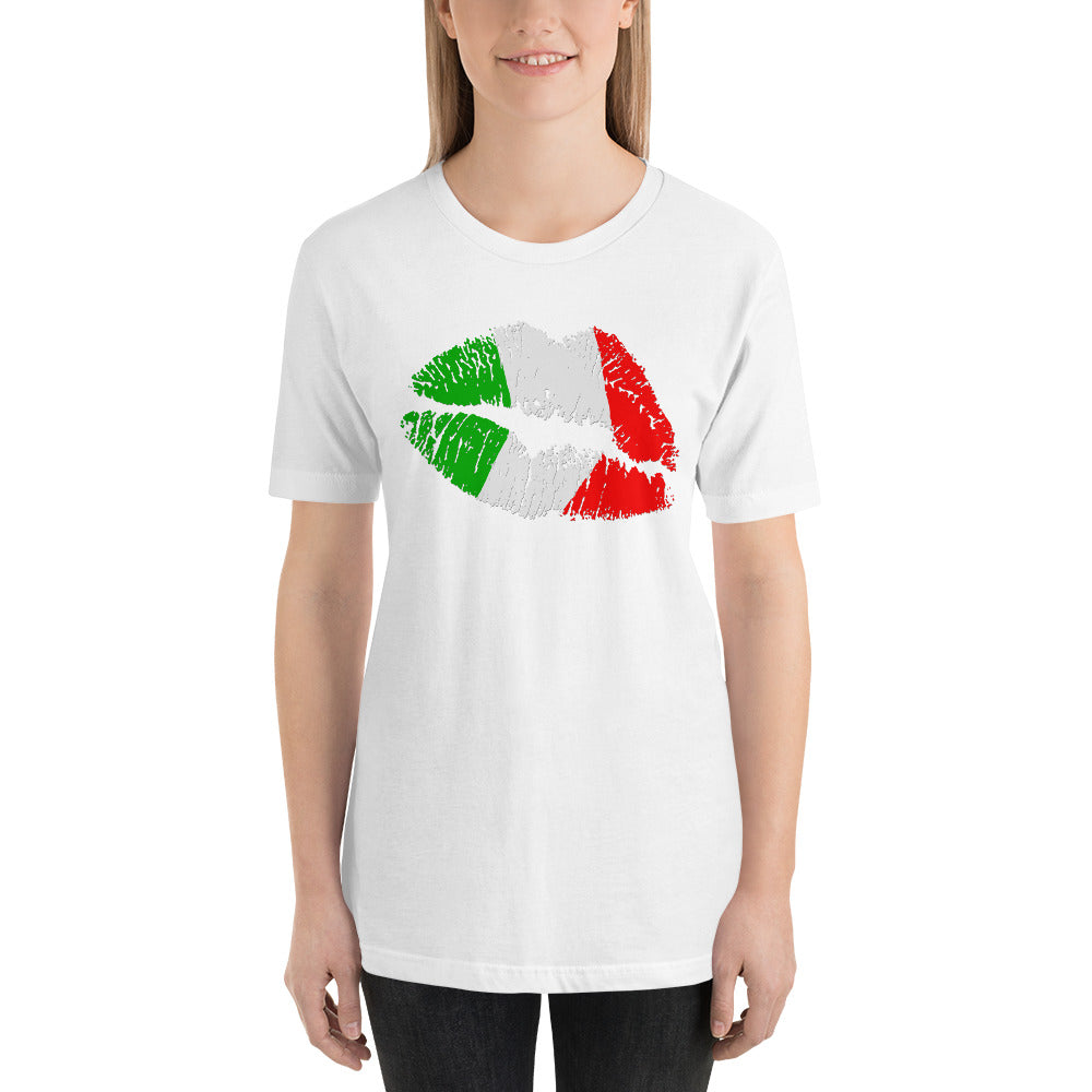 Italian Kiss Short-Sleeve Unisex T-Shirt - Guidogear