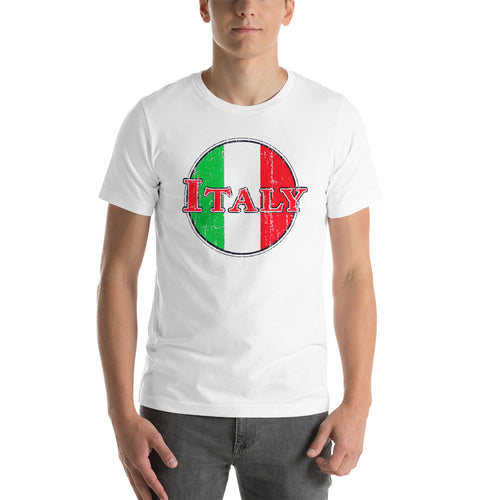 Italy Vintage Short-Sleeve Unisex T-Shirt - Guidogear