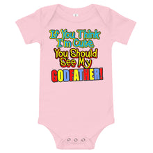 Load image into Gallery viewer, If You Think I'm Cute, You Should See My Godfather Onesie - Guidogear