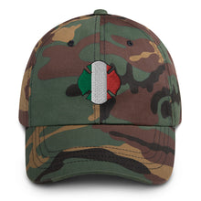 Load image into Gallery viewer, Firefighter Italian Flag Dad hat - Guidogear