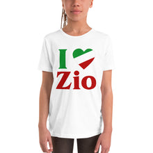 Load image into Gallery viewer, I Love Zio Youth Short Sleeve T-Shirt - Guidogear