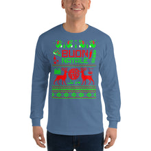 Load image into Gallery viewer, Italian Ugly Christmas Sweater Design Long Sleeve Shirt - Guidogear