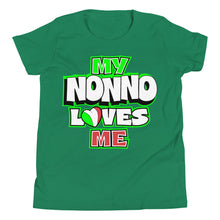 Load image into Gallery viewer, My Nonno Loves Me Youth Short Sleeve T-Shirt - Guidogear