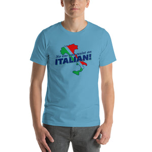 No One Can Resist An Italian Short-Sleeve Unisex T-Shirt - Guidogear