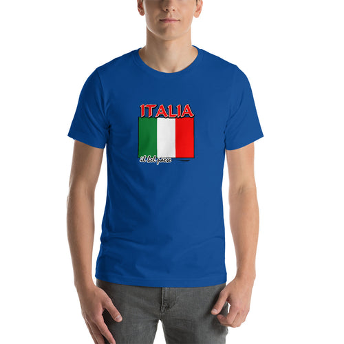 Italia il bel paese Short-Sleeve Unisex T-Shirt - Guidogear