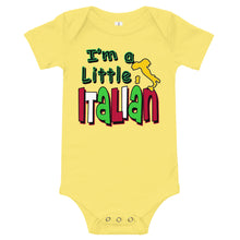 Load image into Gallery viewer, I'm A Little Italian Onesie - Guidogear