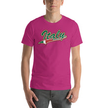 Load image into Gallery viewer, Italy Tail Short-Sleeve Unisex T-Shirt - Guidogear