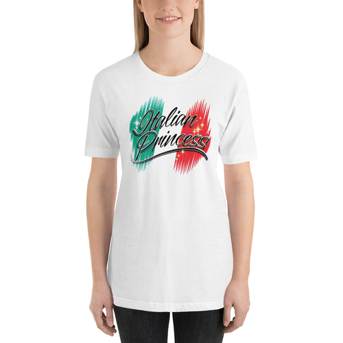 Italian Princess - New Design Short-Sleeve Unisex T-Shirt - Guidogear