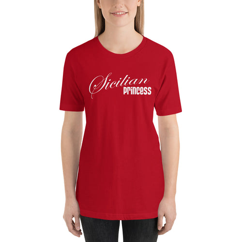 Sicilian Princess Short-Sleeve Unisex T-Shirt - Guidogear