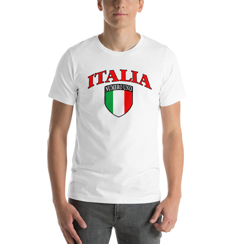 Italia Short-Sleeve Unisex T-Shirt - Guidogear