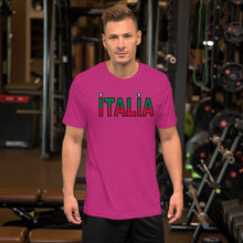 Load image into Gallery viewer, Italia Split Short-Sleeve Unisex T-Shirt - Guidogear