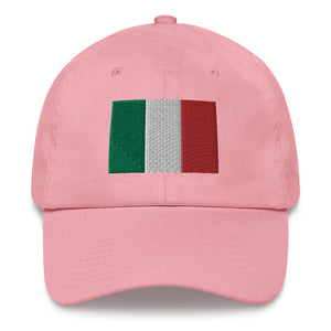 Italy Flag Embroidered Dad hat - Guidogear