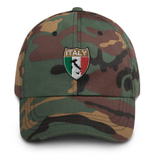 Load image into Gallery viewer, Italy Boot Shield Dad hat - Guidogear