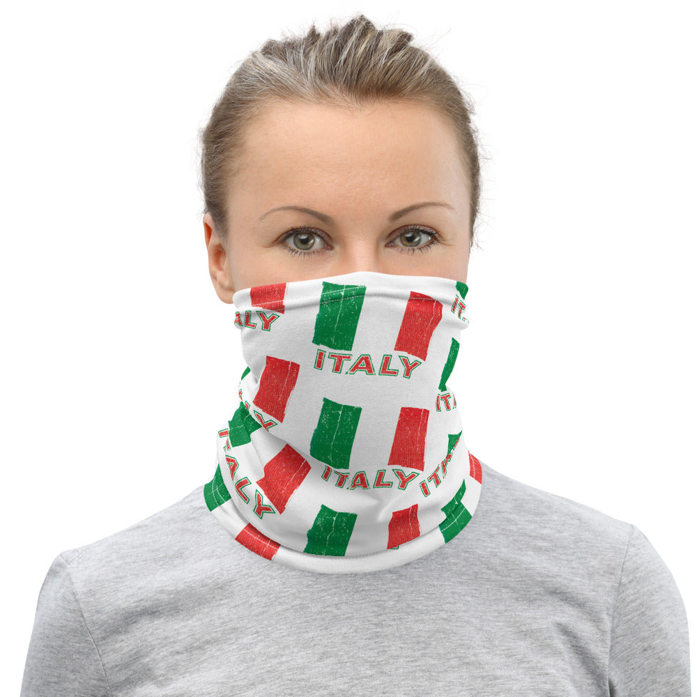 Vintage Italian Flag Neck Gaiter - Guidogear