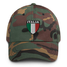 Load image into Gallery viewer, Italia Shield Dad hat - Guidogear