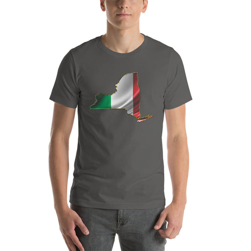 NY Italian Short-Sleeve Unisex T-Shirt - Guidogear