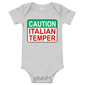 Caution Italian Temper Onesie - Guidogear