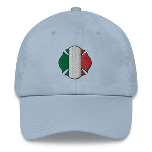 Firefighter Italian Flag Dad hat - Guidogear
