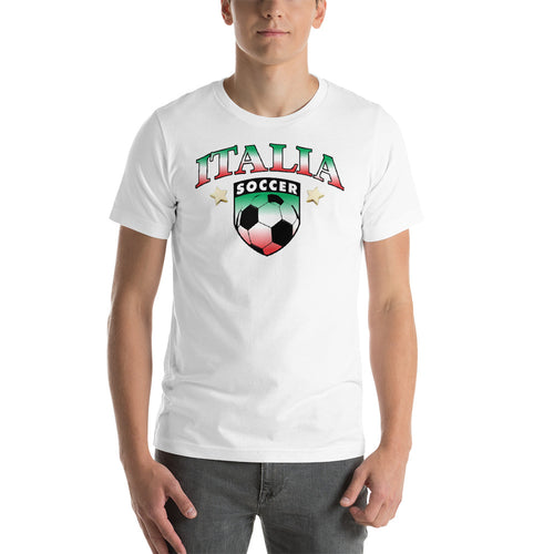 Italia Soccer Short-Sleeve Unisex T-Shirt - Guidogear