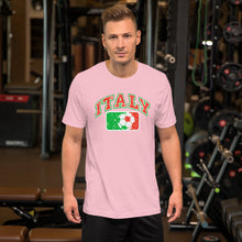 Load image into Gallery viewer, Vintage Italy Soccer Short-Sleeve Unisex T-Shirt - Guidogear